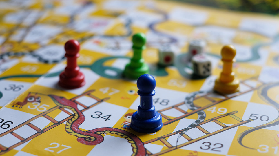 Snakes And Ladders In Life
